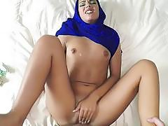 Sexy arab fucked hard in her tight pussy